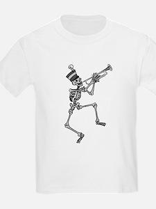 Skeleton Trumpet T-Shirt