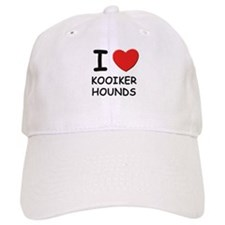 I love KOOIKER HOUNDS Baseball Cap