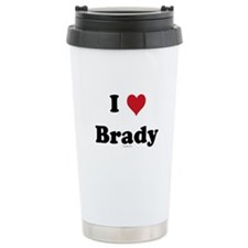 I love Brady Travel Mug