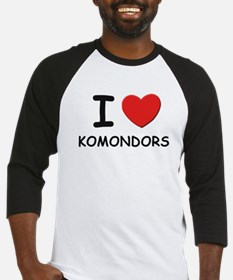 I love KOMONDORS Baseball Jersey