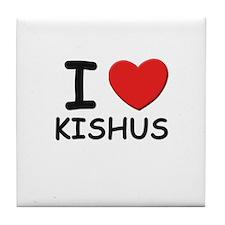 I love KISHUS Tile Coaster