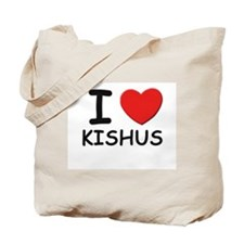 I love KISHUS Tote Bag