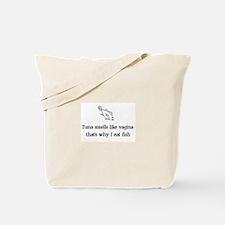 Cute Tuna Tote Bag