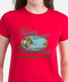 > Fishing - Marriage - Licens Tee