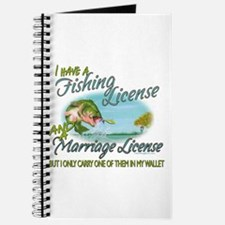 > Fishing - Marriage - License Journal