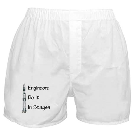 Engineer stages Boxer Shorts