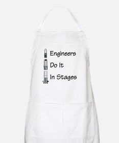 Engineer stages BBQ Apron
