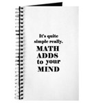 MATH ADDS TO YOUR MIND Journal