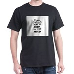 MATH ADDS TO YOUR MIND Dark T-Shirt