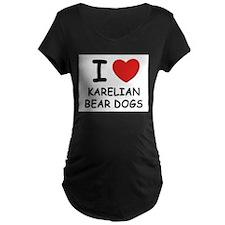 I love KARELIAN BEAR DOGS T-Shirt
