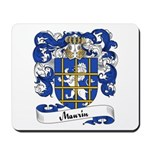 Maurin Family Crest Mousepad