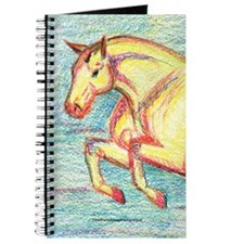 Jumper Horse Art Journal