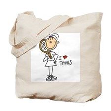 Girl I Love Tennis Tote Bag