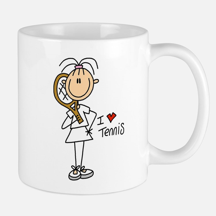 Girl I Love Tennis Mug