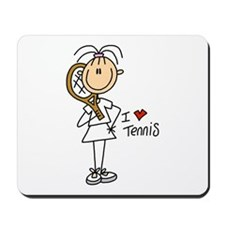 Girl I Love Tennis Mousepad