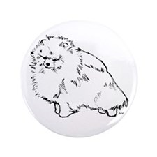 """Pom blk.&wh. 3.5"""" Button (100 pack)"""