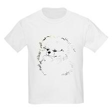 Pom Head 3 blk.&wh. T-Shirt