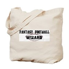 Fantasy Football Wizard Tote Bag
