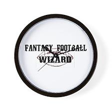Fantasy Football Wizard Wall Clock