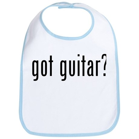 got guitar? Bib