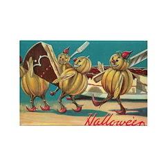 Halloween Pumpkins Rectangle Magnet (10 pack)