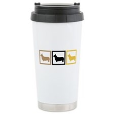 Corgi Travel Coffee Mug
