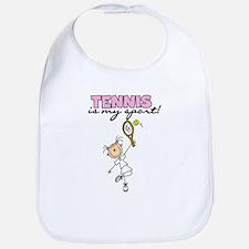 Tennis is my Sport Bib