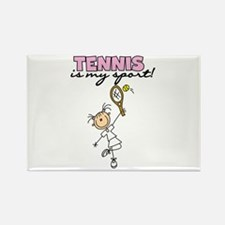 Tennis is my Sport Rectangle Magnet (10 pack)