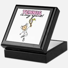 Tennis is my Sport Keepsake Box