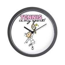 Tennis is my Sport Wall Clock
