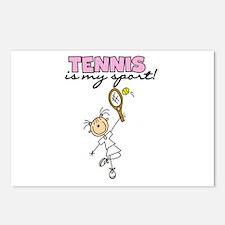 Tennis is my Sport Postcards (Package of 8)
