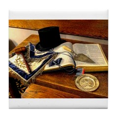 Worshipful Master Tile Coaster