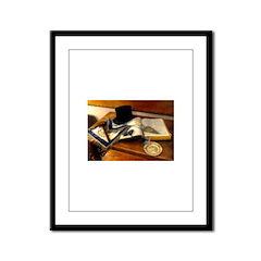Worshipful Master Framed Panel Print