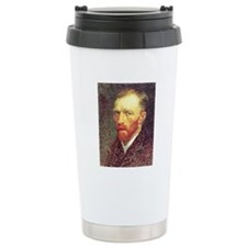 Self Portrait Sketch Travel Mug