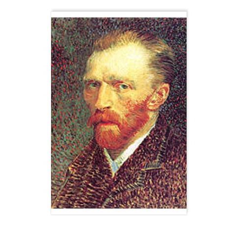 Self Portrait Sketch Postcards (Package of 8)