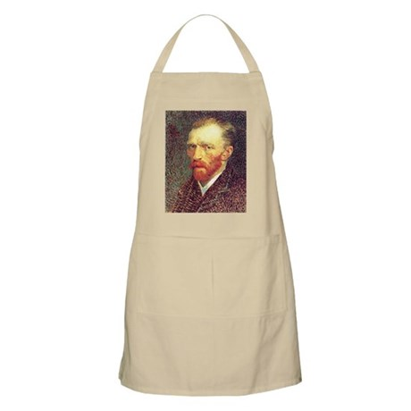Self Portrait Sketch BBQ Apron
