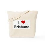 I Love Brisbane Tote Bag