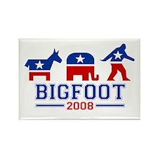 Bigfoot 2008 Rectangle Magnet (10 pack)