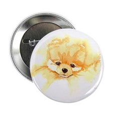 """Pom Head Watercolor 2.25"""" Button (10 pack)"""