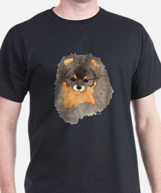 Pom Blk & Tan Headstudy T-Shirt