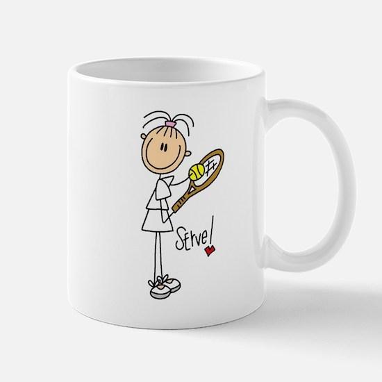Tennis Serve Mug