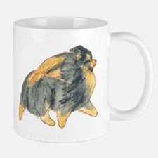 Pom Blk & Tan Moving Mug