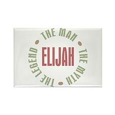 Elijah Man Myth Legend Rectangle Magnet
