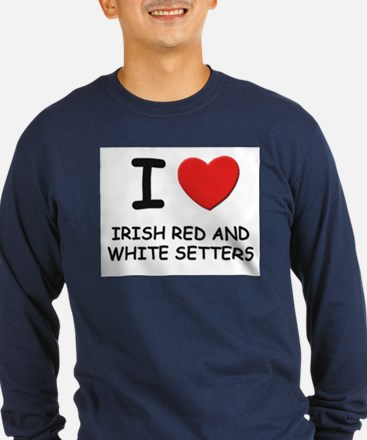 I love IRISH RED AND WHITE SETTERS T