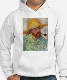 Self Portrait with Hat and Pipe Hoodie