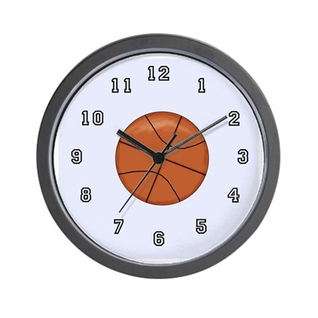 Basketball Kids Wall Clock
