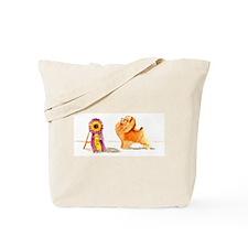 Pom w/ Show Ribbon Tote Bag
