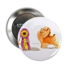 "Pom w/ Show Ribbon 2.25"" Button (10 pack)"