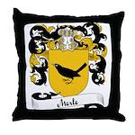 Merle Family Crest Throw Pillow