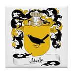 Merle Family Crest Tile Coaster